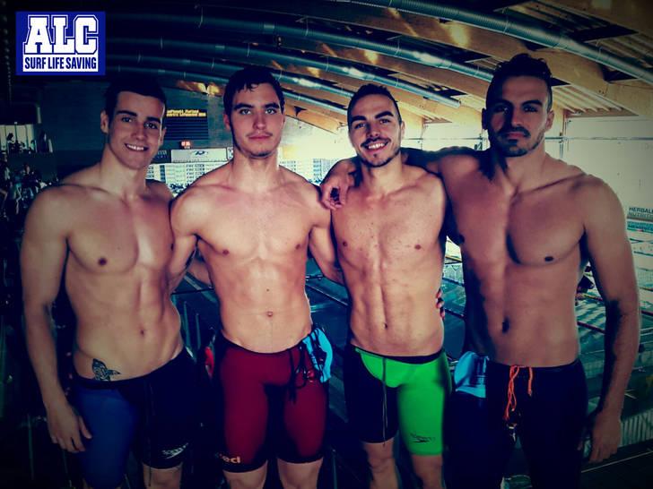 Los Alcarreños baten dos records y traen buenas sensaciones de Italia