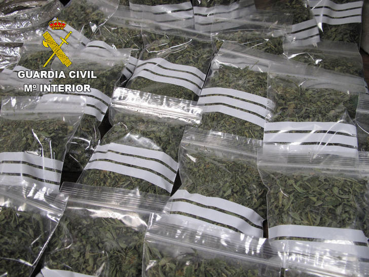 Detienen a una persona en Gajanejos por tráfico de drogas