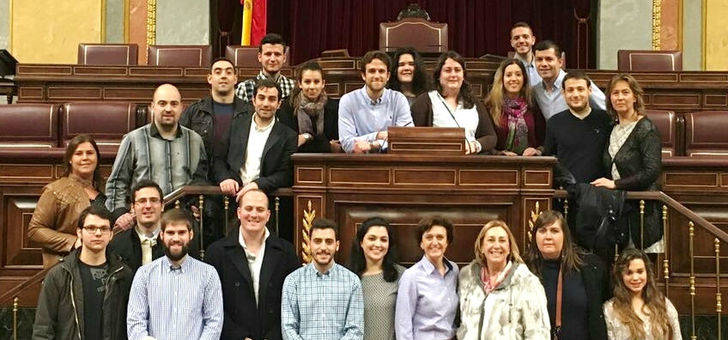 Los jóvenes de NN GG Guadalajara conocen de primera mano el funcionamiento del Congreso y del Senado