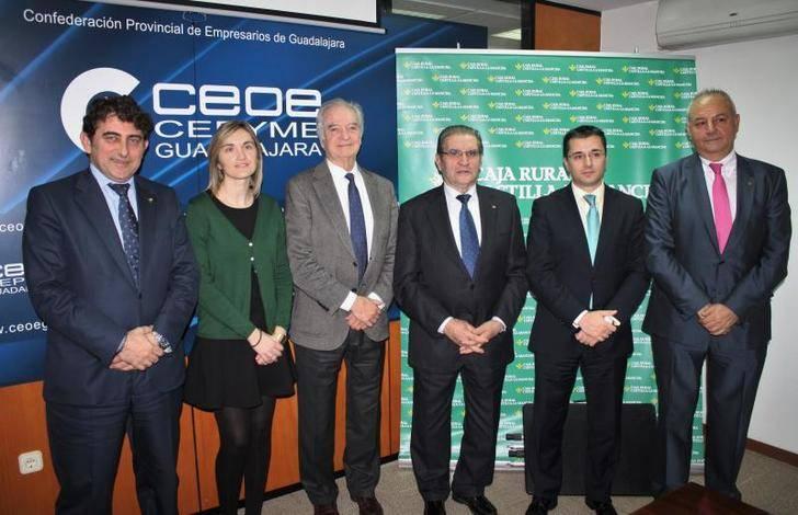 Caja Rural CLM y CEOE-CEPYME estrechan su colaboración corporativa