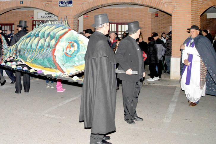 El Entierro de la Sardina cerró las actividades de Carnaval de Azuqueca