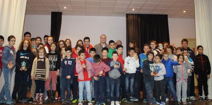 Celebrada en Albalate la tercera jornada del XI Circuito de Ajedrez promovido por Diputación