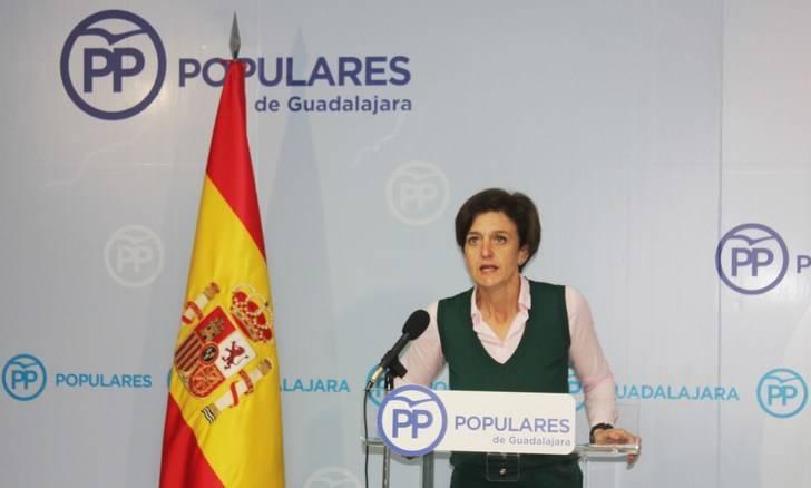 """Ana González afirma que """"Page está atado de pies y manos por Podemos, y por eso ataca a la educación concertada """""""