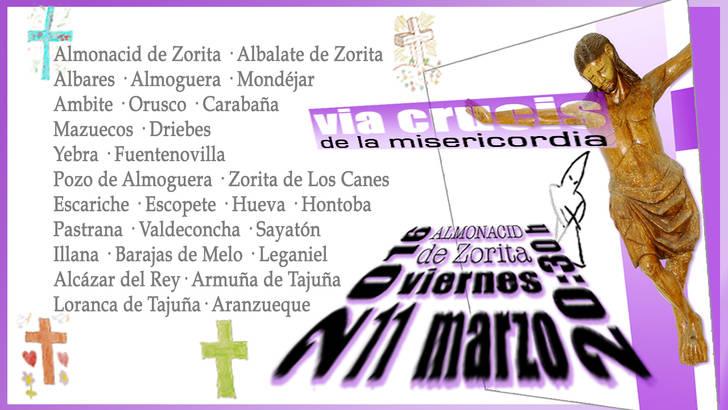 Almonacid de Zorita acoge este viernes el Vía Crucis interparroquial del Arciprestazgo de Pastrana-Mondéjar