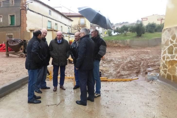 La Diputación renovará la red de colectores y agua de cuatro calles de Jadraque