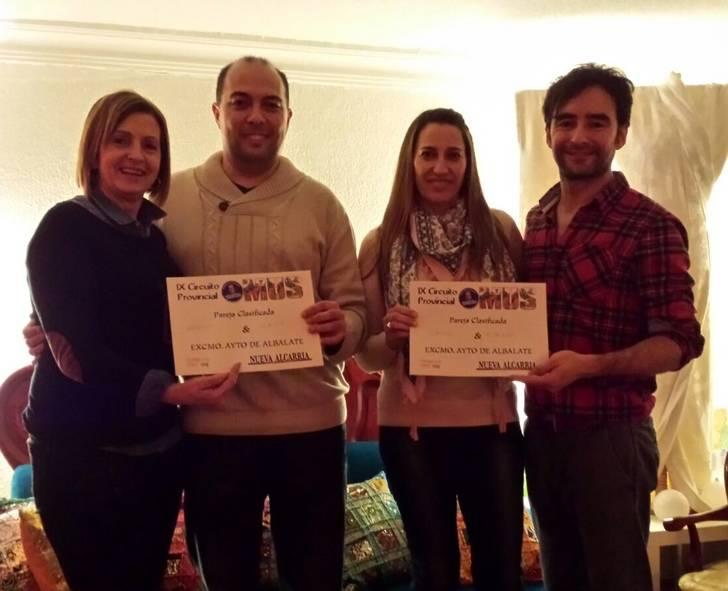 Raquel Murciano y David López, vencedores en la Fase Local de Mus de Albalate