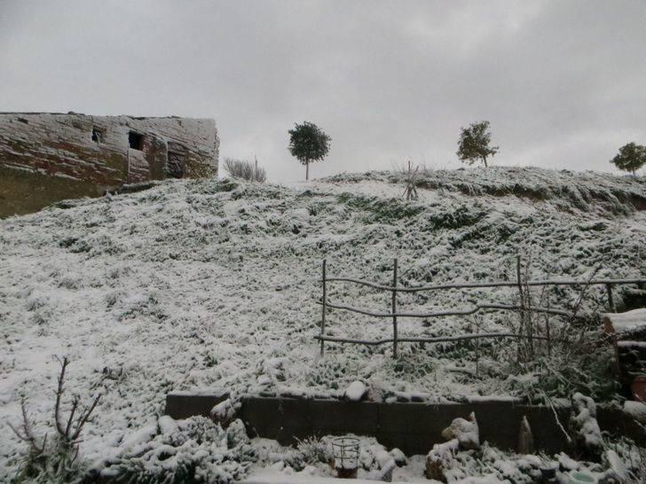 Alerta amarila por nevadas este lunes en Guadalajara