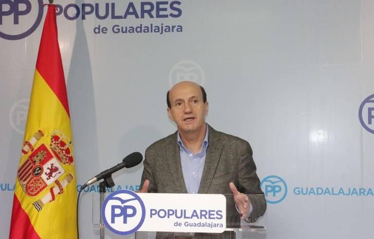 """Juan Pablo Sánchez: """"Page y Pedro Sánchez son dos perdedores que se han convertido en muñecos en manos del titiritero Pablo Iglesias"""""""
