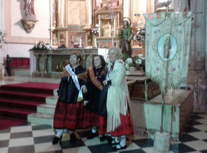 Málaga del Fresno ha celebrado Santa Águeda