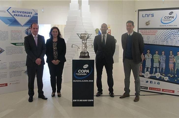 La LNFS y Guadalajara presentan el Cartel Oficial de la Copa de España y el Programa de actividades paralelas