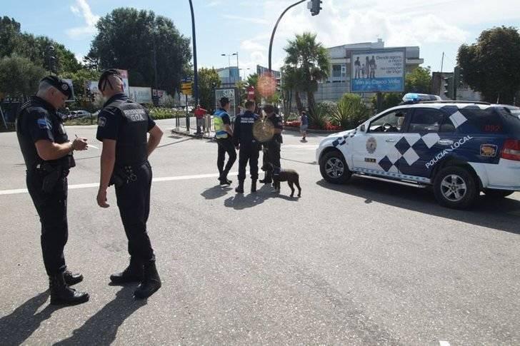 La Policía Local de Vigo detiene a un vecino de Guadalajara por robo
