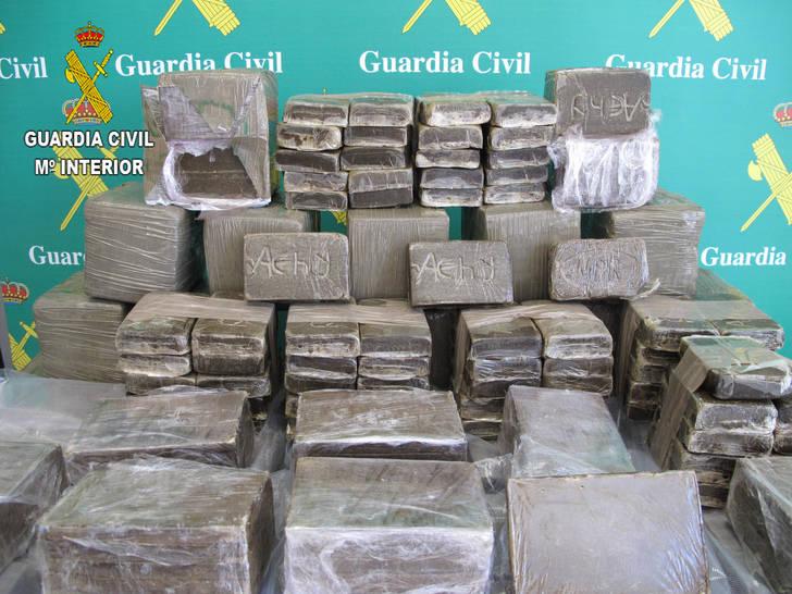 Detenidas dos personas en Guadalajara por tráfico de drogas