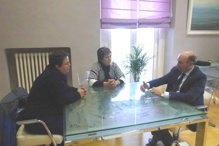 Latre continúa con la ronda de reuniones con alcaldes de la provincia