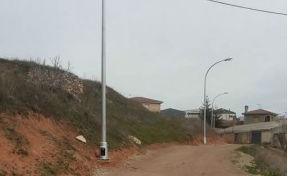 Mejorado el alumbrado público en la trasera de la calle Higueras de Jadraque