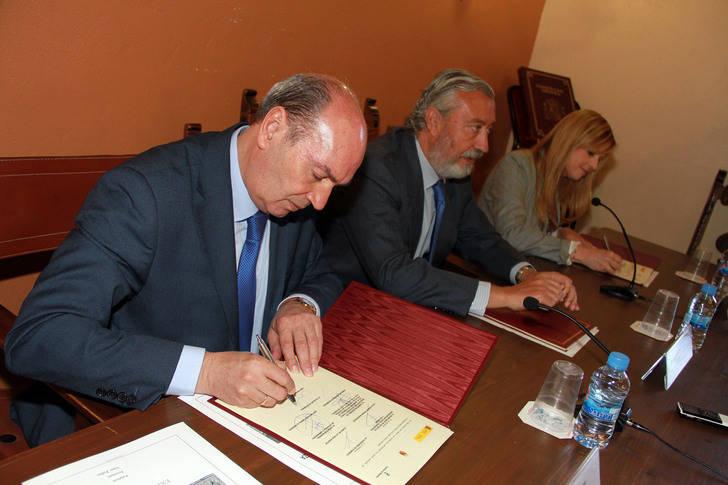 Ayuntamiento, Junta y Ministerio mantienen el impulso para la rehabilitación del Casco Histórico de Sigüenza
