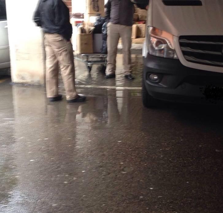 """El PP denuncia que """"horas después marcharse el consejero de Sanidad se han producido nuevas inundaciones en el Hospital de Guadalajara"""""""