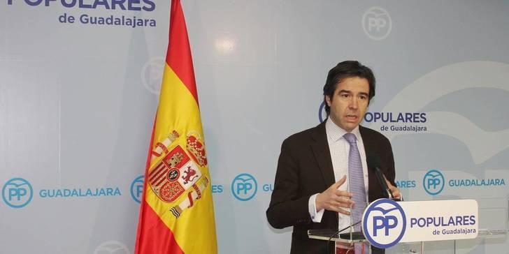 """Robisco: """"Frente al crecimiento de España y las oportunidades generadas con el PP, con Page la inversión empresarial huye de la región"""""""