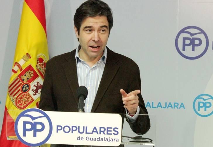 """Robisco subraya la """"preocupación extrema"""" del PP y de los guadalajareños por la continuidad del convenio sanitario con Madrid por la negativa de Page a pagarlo"""