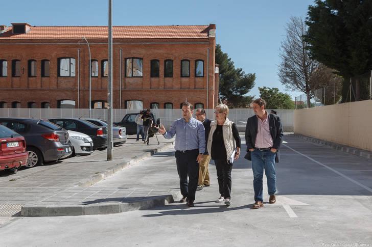 El Ayuntamiento de Guadalajara realiza una nueva mejora en el barrio de Los Manantiales