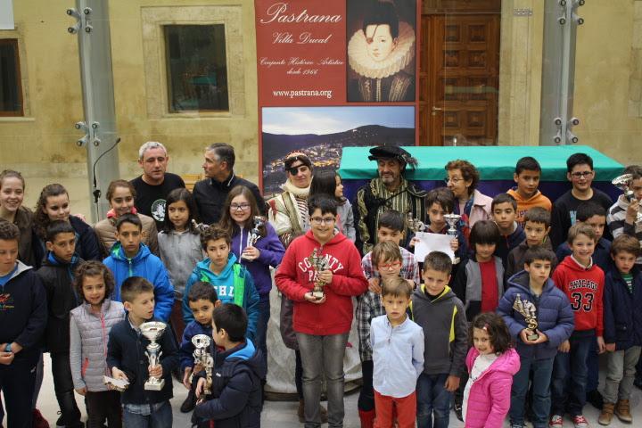 Brillante final en Pastrana del XI Circuito de Ajedrez promovido por Diputación