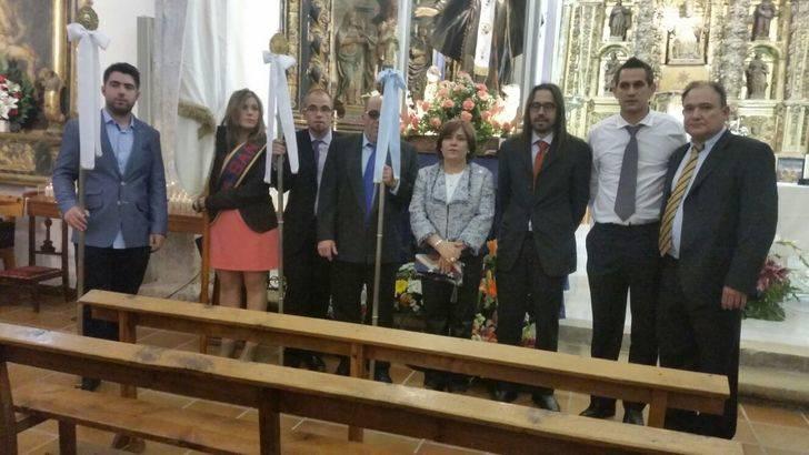 La diputada Lucía Enjuto acompaña a los vecinos de Fuentelsaz en el día de su patrón