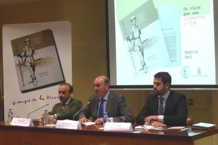 La Diputación presenta un novedoso y atractivo Cuaderno turístico para realizar el 'Viaje a la Alcarria'