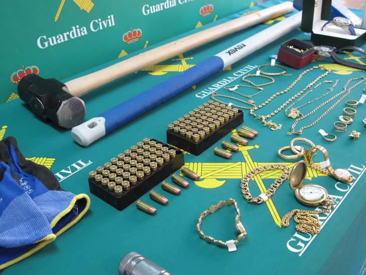 La Guardia Civil desarticula una organización criminal dedicada al robo en viviendas de El Casar y de poblaciones limítrofes
