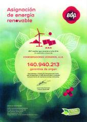 La fábrica de ISOVER, en Azuqueca de Henares, recibe el Diploma EDP por asignación de energía renovable