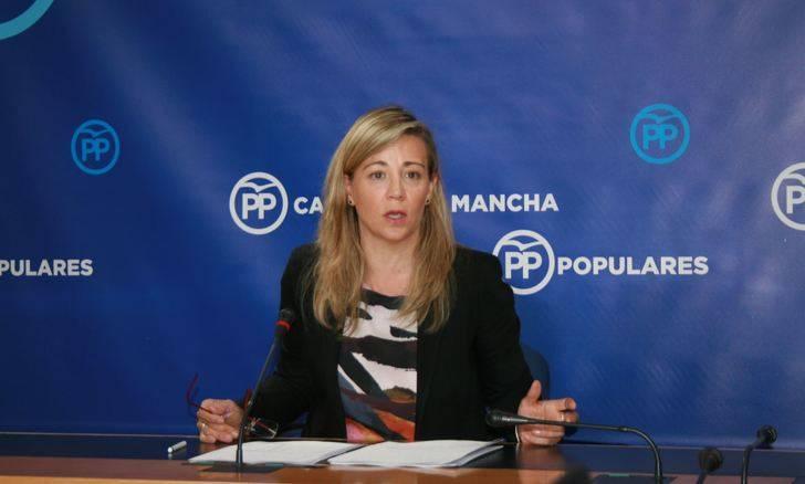 """Merino: """"Las mujeres de Castilla-La Mancha no nos merecemos un presidente machista como Page"""""""