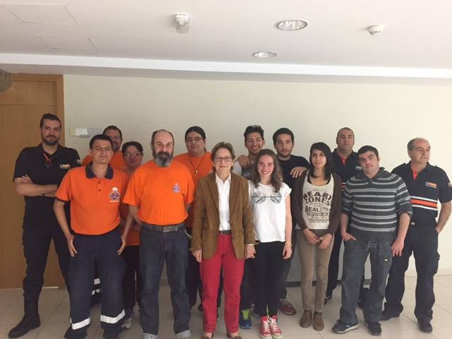 Voluntarios de agrupaciones de Protección Civil de Guadalajara reciben formación en primeros auxilios y atención sanitaria