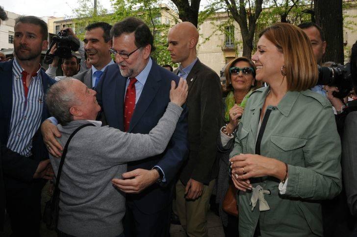Rajoy desvela en Guadalajara cómo será su campaña electoral