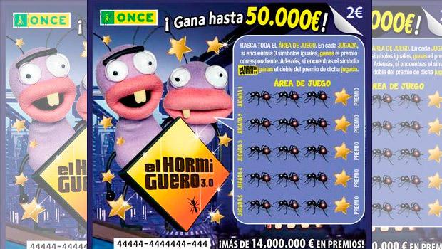 """El Rasca """"El Hormiguero"""" de la ONCE deja 50.000 euros en Albalate de Zorita"""