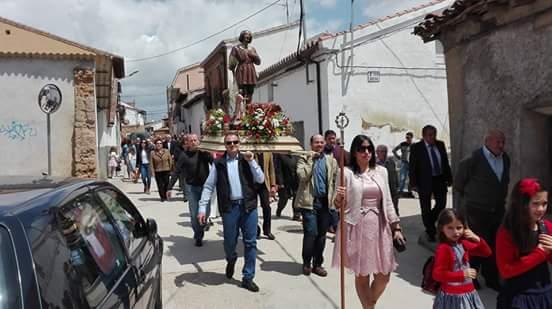 Málaga del Fresno celebra la festividad de San Isidro