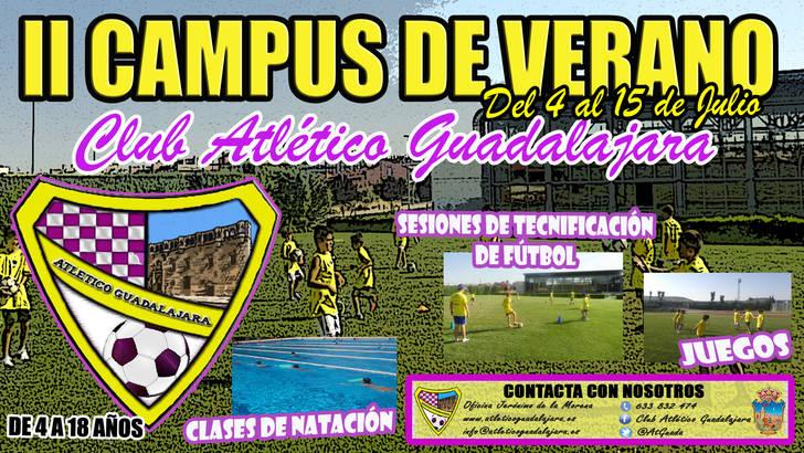 Abierto el plazo de inscripción para el Campus de Verano del Club Atlético Guadalajara