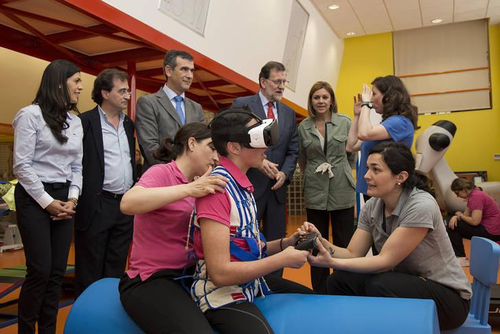Rajoy reconoce y apoya la labor de Fundación Nipace con los niños con parálisis cerebral