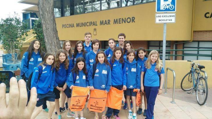 Mínimas nacionales para los nadadores del Alcarreño Iván Maese, Elsa López y Miriam Martínez