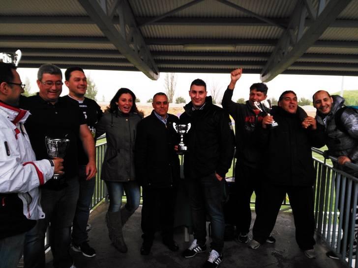 El equipo Delikia-Talleres San Roque ganador de la Liga Municipal de Fútbol 7 de Alovera