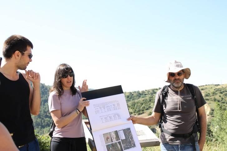 Un total de 23 alumnos conocen los detalles del Geoparque de Molina gracias a la UNED
