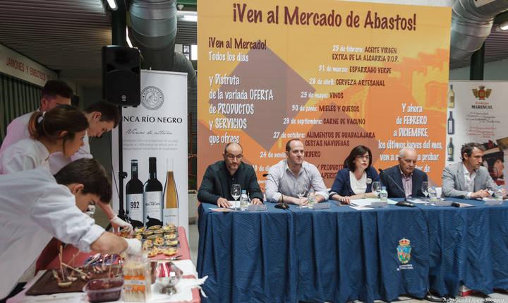 Los vinos de Guadalajara, protagonistas de la nueva jornada del programa Ven al Mercado de Abastos