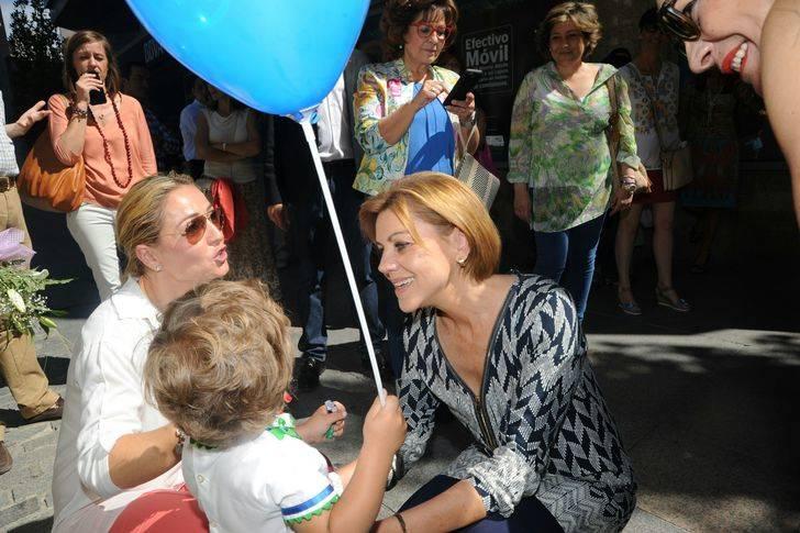 """Cospedal: """"Vimos un candidato con un proyecto serio para España y tres aspirantes que no creen en las posibilidades del país, ni tienen un proyecto de futuro"""""""