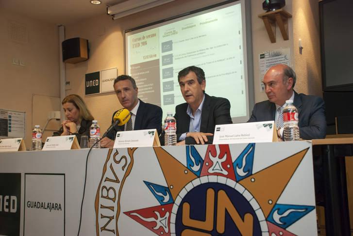La UNED de Guadalajara presentó sus Cursos de Verano