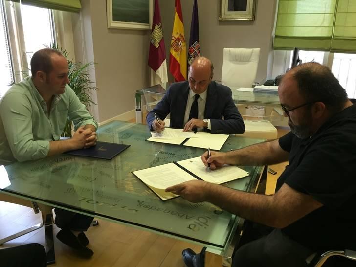 Diputación firma un convenio de colaboración con el Basket Azuqueca