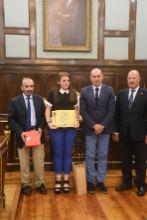 Latre felicita a los alumnos ganadores del concurso de redacción escolar 'Cela, siempre en La Alcarria'