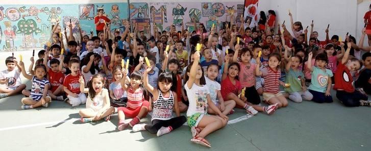 Frigo celebra la llegada del verano regalando más de 300.000 helados DUO a los colegios castellano-manchegos