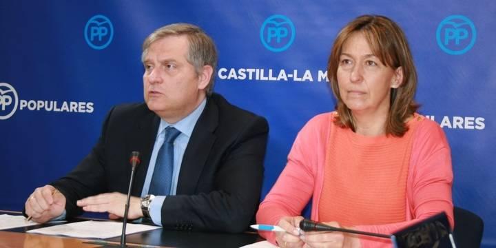 El PP lamenta el retroceso social y económico que ha sufrido Castilla-La Mancha con las políticas radicales de izquierda de Page-Podemos