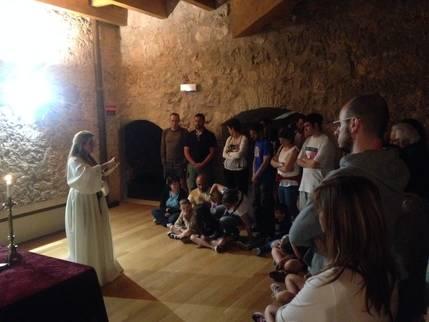 Cerca de 500 personas rememoran la presencia templaria en el Castillo de Torija