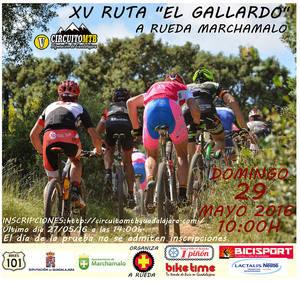 """La ruta MTB """"El Gallardo"""" repite este domingo, prueba del Circuito Provincial"""