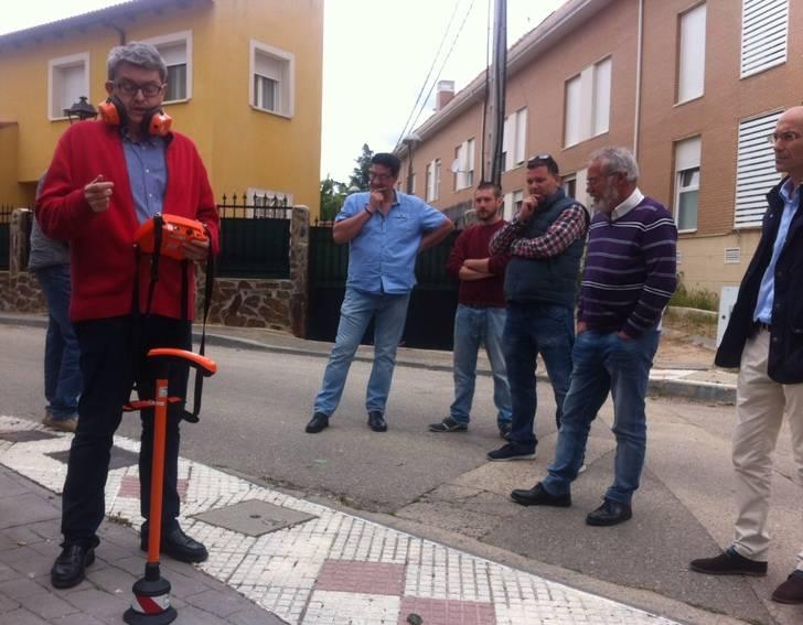 La MAS organiza una Jornada Técnica de detección de fugas para concejales y técnicos municipales
