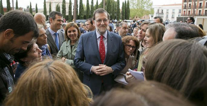 Rajoy participará de un acto el próximo 17 de junio en Guadalajara