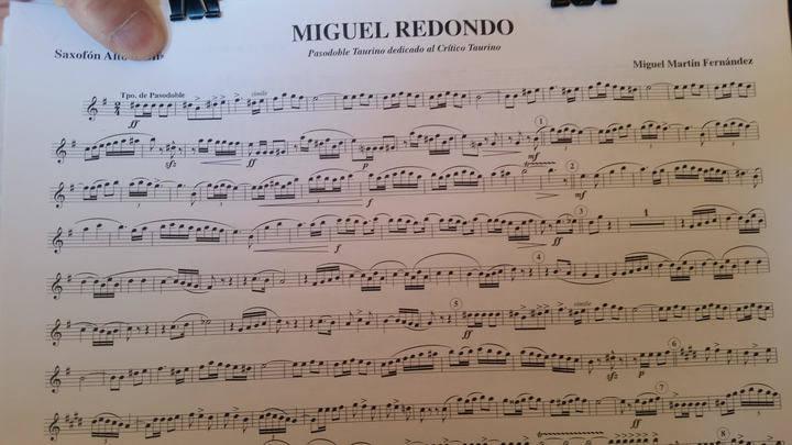 La Banda de Música de Las Ventas estrena un pasodoble llamado 'Miguel Redondo', dedicado al crítico taurino